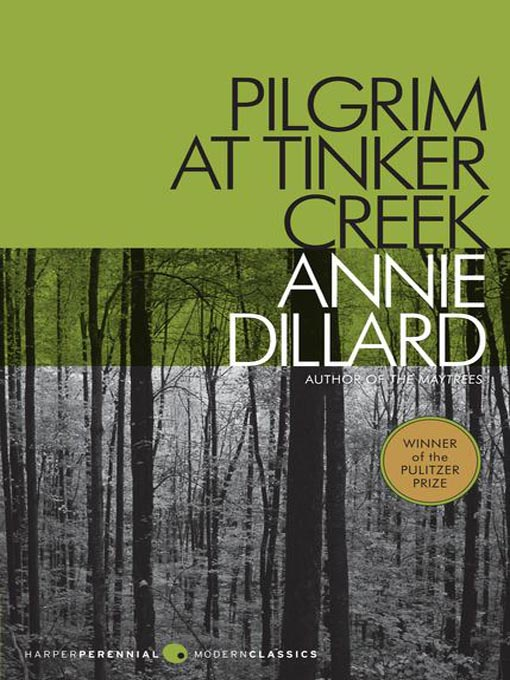 Pilgrim at Tinker Creek, by Annie Dillard | Blogging for a ...
