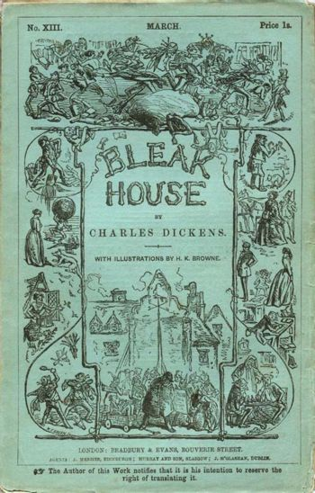 The nature of power in bleak house a book by charles dickens