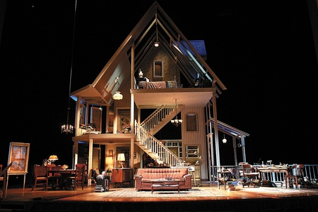 August osage county by tracy letts blogging for a good for Rosenthal home designs