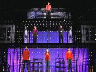 Next to Normal staging