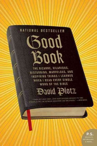 bible david books amazon disturbing plotz genocide word read testament recipe flip critical marvelous hilarious things front opednews bfgb