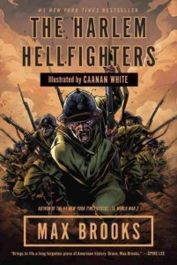 Artistic rendering of Hellfighters charging into battle