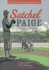 Cover art, Satchel Paige on baseball mound